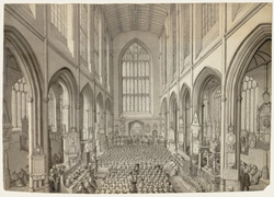A Service at Bath Abbey